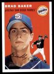 2003 Topps Heritage #357  Brad Baker  Front Thumbnail