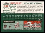 2003 Topps Heritage #282  Aubrey Huff  Back Thumbnail