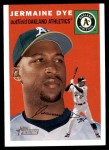 2003 Topps Heritage #314  Jermaine Dye  Front Thumbnail