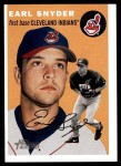 2003 Topps Heritage #271  Earl Snyder  Front Thumbnail