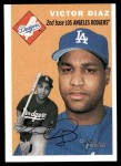 2003 Topps Heritage #220  Victor Diaz  Front Thumbnail
