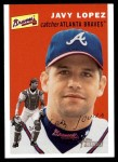 2003 Topps Heritage #305  Javy Lopez  Front Thumbnail