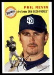 2003 Topps Heritage #311  Phil Nevin  Front Thumbnail