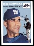 2003 Topps Heritage #319  Jose Hernandez  Front Thumbnail