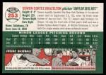 2003 Topps Heritage #253  Dewon Brazelton  Back Thumbnail