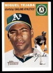 2003 Topps Heritage #260 ORG Miguel Tejada   Front Thumbnail