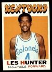 1971 Topps #157  Les Hunter  Front Thumbnail