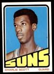1972 Topps #47  Charlie Scott   Front Thumbnail