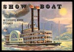 1955 Topps Rails & Sails #147   Show Boat Front Thumbnail