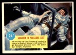 1963 Topps Astronauts 3D #24   -  Gus Grissom Grissom in pressure suit Front Thumbnail