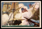 1954 Bowman U.S. Navy Victories #3   Niagara Fights Alone Front Thumbnail