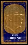 1965 Topps Embossed #51  John Orsino  Front Thumbnail