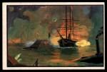 1954 Bowman U.S. Navy Victories #31   Farragut captures New Orleans Front Thumbnail