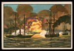 1954 Bowman U.S. Navy Victories #4   Bombardment of Vera Cruz Front Thumbnail