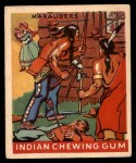 1947 Goudey Indian Gum #34   Marauders Front Thumbnail