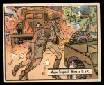 1941 Gum Inc. War Gum #35   Major Trapnell Wins a D.S.C. Front Thumbnail