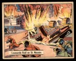 1941 Gum Inc. War Gum #65   Commando Raid On St. Nazaire Front Thumbnail