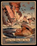 1941 Gum Inc. War Gum #79   Ensign Views Midway Battle From Sea Front Thumbnail