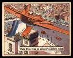 1941 Gum Inc. War Gum #81   Plane Drops Flag On Unknown Soldier's Tomb Front Thumbnail