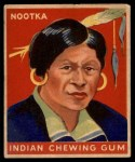 1947 Goudey Indian Gum #79   Nootka Front Thumbnail