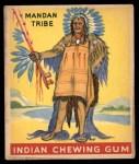 1947 Goudey Indian Gum #23   Mandan Tribe Front Thumbnail