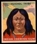 1947 Goudey Indian Gum #53   Huichol Tribe Front Thumbnail