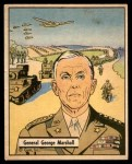 1941 Gum Inc. War Gum #19   General George Marshall Front Thumbnail