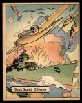 1941 Gum Inc. War Gum #22   Dutch Sea-Air/Dutch Sea-Air Offensive Front Thumbnail