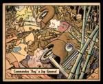 1941 Gum Inc. War Gum #30   Commandos Bag Japanese General Front Thumbnail