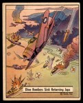1941 Gum Inc. War Gum #114   Dive Bombers Sink Returning Japanese Front Thumbnail