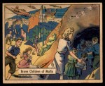 1941 Gum Inc. War Gum #122   Brave Children Of Malta Front Thumbnail