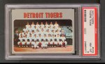 1970 Topps #579   Tigers Team Front Thumbnail