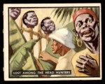 1950 Topps Bring Em Back Alive #13   Lost Among The Head Hunters Front Thumbnail