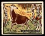 1950 Topps Bring Em Back Alive #7   The Blazing Destroyer Front Thumbnail