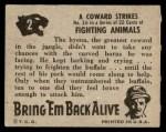 1950 Topps Bring Em Back Alive #2   Coward Strikes Back Thumbnail