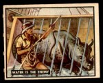 1950 Topps Bring Em Back Alive #69   Water Is The Enemy Front Thumbnail