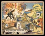 1941 Gum Inc. War Gum #73   Hangman Heydrich Assassinated Front Thumbnail