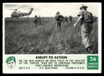 1966 Philadelphia Green Berets #26   Airlift To Action Front Thumbnail
