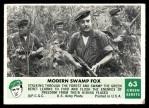 1966 Philadelphia Green Berets #63   Modern Swamp Fox Front Thumbnail