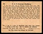 1941 Gum Inc. War Gum #90   R.A.F. Scourges Hamburg Back Thumbnail