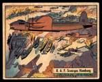 1941 Gum Inc. War Gum #90   R.A.F. Scourges Hamburg Front Thumbnail