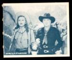 1950 Topps Hopalong Cassidy #135   Unexpected danger Front Thumbnail