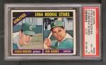 1966 Topps #588   -  Chuck Dobson / Ken Suarez Athletics Rookies Front Thumbnail