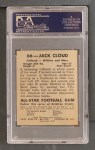 1948 Leaf #66 BLU Jack Cloud  Back Thumbnail