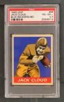 1948 Leaf #66 BLU Jack Cloud  Front Thumbnail