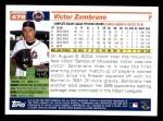 2005 Topps #478  Victor Zambrano  Back Thumbnail