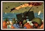 1954 Bowman U.S. Navy Victories #8   Victory over the Kamikaze Front Thumbnail