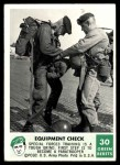 1966 Philadelphia Green Berets #30   Equipment Check Front Thumbnail
