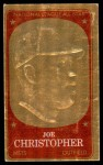 1965 Topps Embossed #52   Joe Christopher   Front Thumbnail