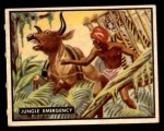 1950 Topps Bring Em Back Alive #100   Jungle Emergency Front Thumbnail